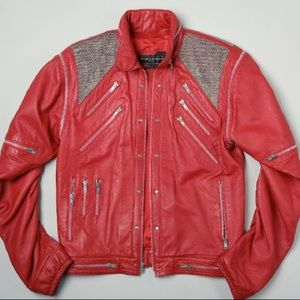 Ambition Thriller Leather Jacket - Michael Jackson